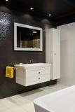 Modern interior. Bathroom Stock Photography