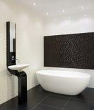 Modern interior. Bathroom stock images