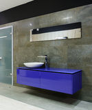 Modern interior. Bathroom stock images