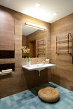 Modern interior. Bathroom Royalty Free Stock Photo