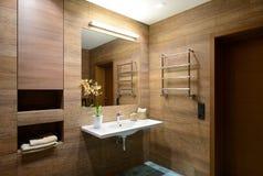 Modern interior. Bathroom Royalty Free Stock Images