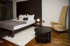 Modern interior of bedroom Stock Image