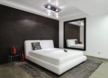 Modern interior.Bedroom. royalty free stock photo