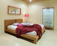 Modern interior.Bedroom. Royalty Free Stock Image