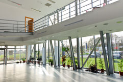 Modern interior building Royalty Free Stock Images