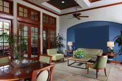 Modern interior club house Stock Photos