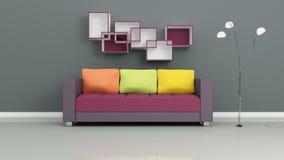 Modern Interior Composition. Royalty Free Stock Photos