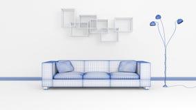 Modern Interior Composition. Stock Photography