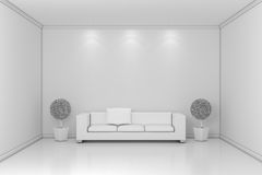 Modern interior composition Royalty Free Stock Photography
