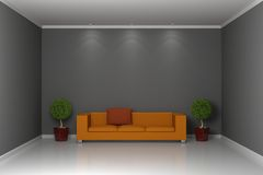 Modern interior composition Royalty Free Stock Photos