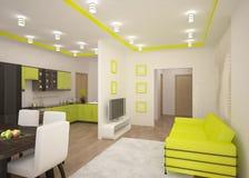 Modern interior concept Stock Image