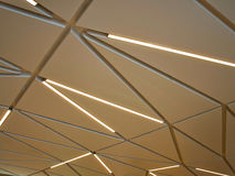 Modern Interior Decoration Beautiful Ceiling Lights Stock Images