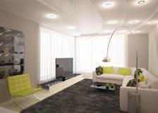 Modern interior design Stock Photos