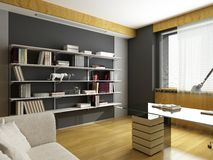 Modern interior design Royalty Free Stock Photo