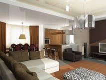Free Modern Interior Design Royalty Free Stock Photos - 7273928