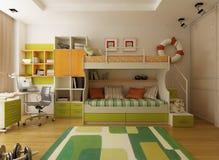 Modern interior design vector illustration