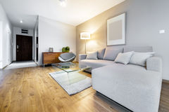 Modern interior design apartment Stock Image
