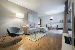 Modern interior design apartment Royalty Free Stock Photos