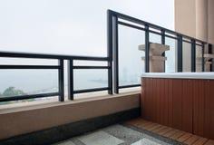 Modern interior design - balcony Stock Photography