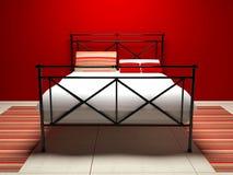 Modern interior design of bedroom Stock Photo