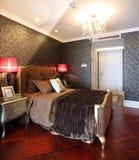 Modern interior design - Bedroom Stock Image