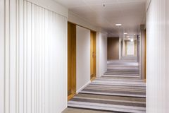Modern interior design of the corridor Royalty Free Stock Image