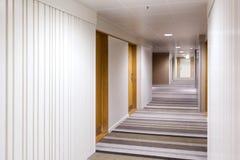 Modern interior design of the corridor royalty free stock image