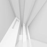 Modern Interior Design. 3d White Modern Interior Design royalty free illustration