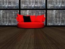 Modern interior design of living room Royalty Free Stock Photo