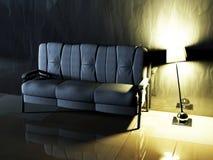 Modern  interior design of living room Royalty Free Stock Image