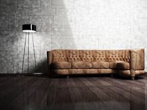 Modern  interior design of living room Royalty Free Stock Photo