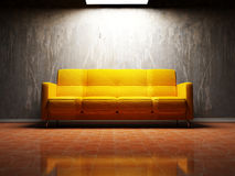 Modern  interior design of living room Royalty Free Stock Image
