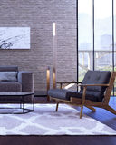 Modern interior design of living room. (3d Render Stock Photos