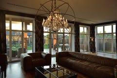 Modern interior design of living room Royalty Free Stock Photos
