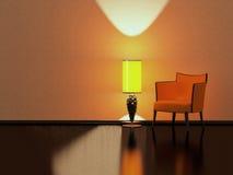 Modern interior design, minimalism Stock Photography