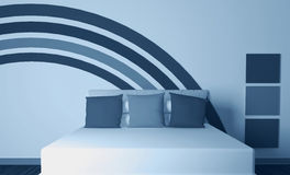 Free Modern Interior Design Of Bedroom Stock Photos - 18807233