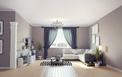 Modern interior Royalty Free Stock Photography