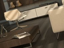 Modern interior detail Royalty Free Stock Photography
