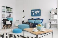 Modern interior with eco-friendly ideas Stock Photos