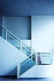 Modern interior of hall with stair Royalty Free Stock Photos