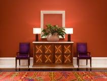 Modern interior hallway stock photography