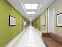 Modern interior of hallway Royalty Free Stock Image
