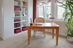 Modern interior of home office Stock Photography
