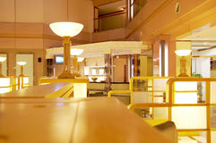 Modern interior of hotel Stock Photos