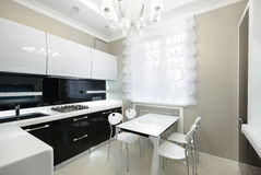 Modern interior. Kitchen stock images