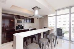 Modern interior kitchen Stock Photography