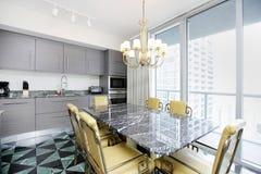 Modern interior kitchen Royalty Free Stock Photo