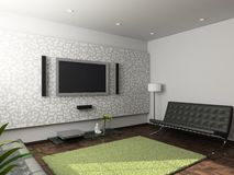 Modern interior of living-room Stock Photography