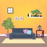 Modern Interior. Living Room. Room Design Stock Photos
