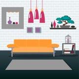 Modern Interior. Living Room. Room Design Stock Images
